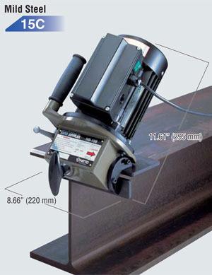Portable Plate Pipe Beveler Chamfering Machine