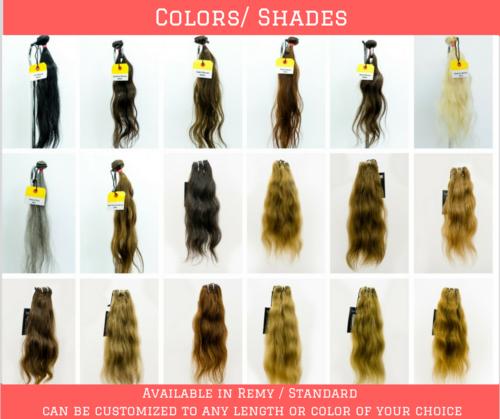 Colored Hair Lengths