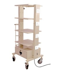 Monitor Hospital Trolley