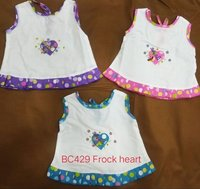 New Born Baby Frock-Bc429