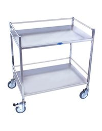 Stainless Steel Operation Theatre Trolley