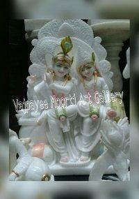 Handcrafted Radha Krishna Statue