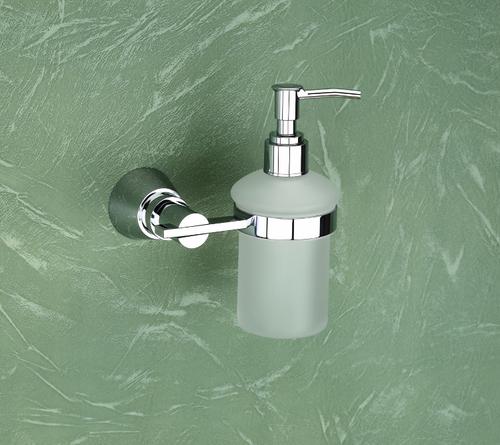 Brass Liquid Soap Dispenser (Round)