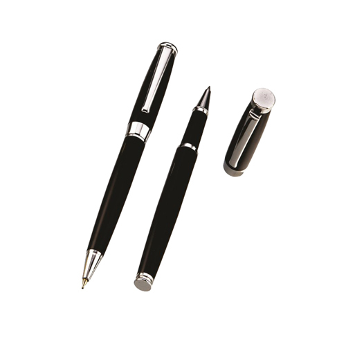 Figi Black Metal Pen