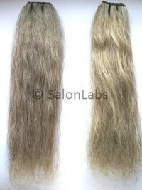 White and Grey Indian Human Hair