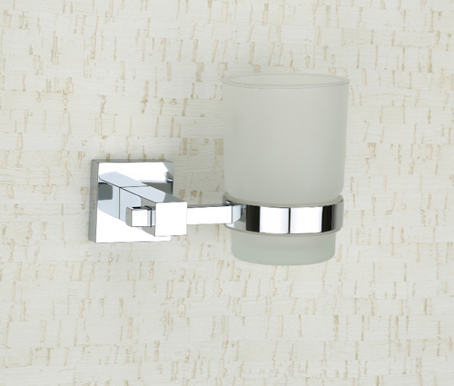 Brass Glass Tumbler Holder (Round)