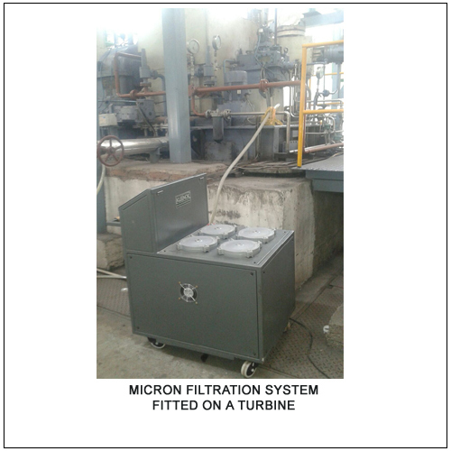Turbine Oil Filtration System