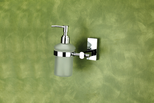 Brass Liquid Soap Dispenser (Round)