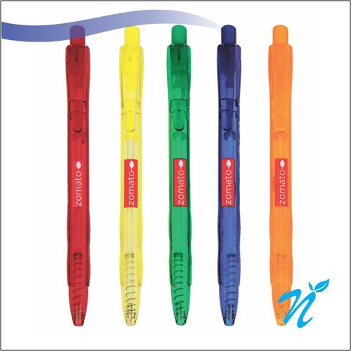 Easy Knock Mix Transparent Ball Pen
