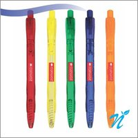 Easy Knock Mix Transparent Ball Pen