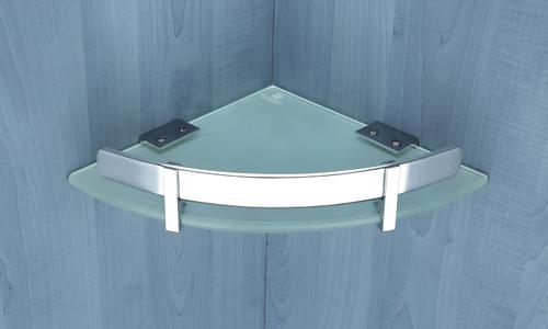 Brass Glass Corner Frame
