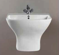 One Piece Wash Basin