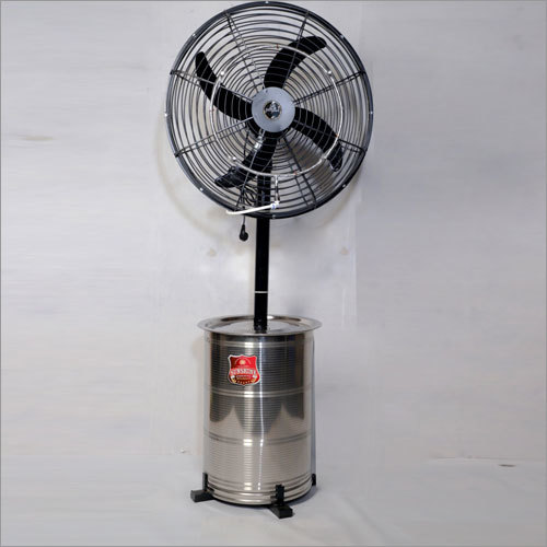 24-Inch In Stainless Steel Stand Capacity Upto 50 Ltrs Mist Fans