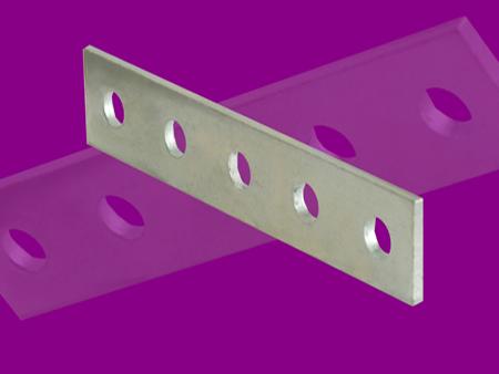 5 Hole Splice Plate