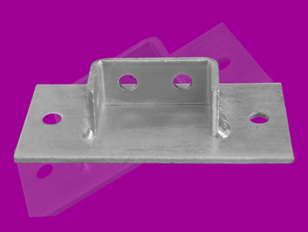 41 x 82 mm Double Channel Base Plate