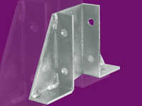41 x 82 Double Channel Gusset Bracket