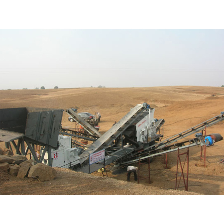 Portable Crushing Screening Unit