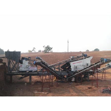 Portable Crushing Screening Unit