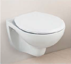 ALFA Wall Hung Toilet Seat