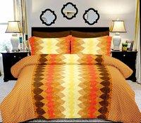 Printed Cotton Satin Bed sheets