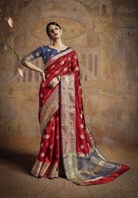Handloom Weaving Silk saree
