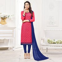 Exclusive cotton Embroidered Suit