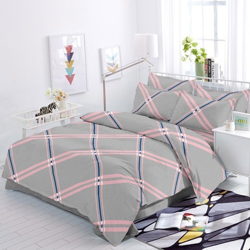 108 Satin Double Bed Sheet
