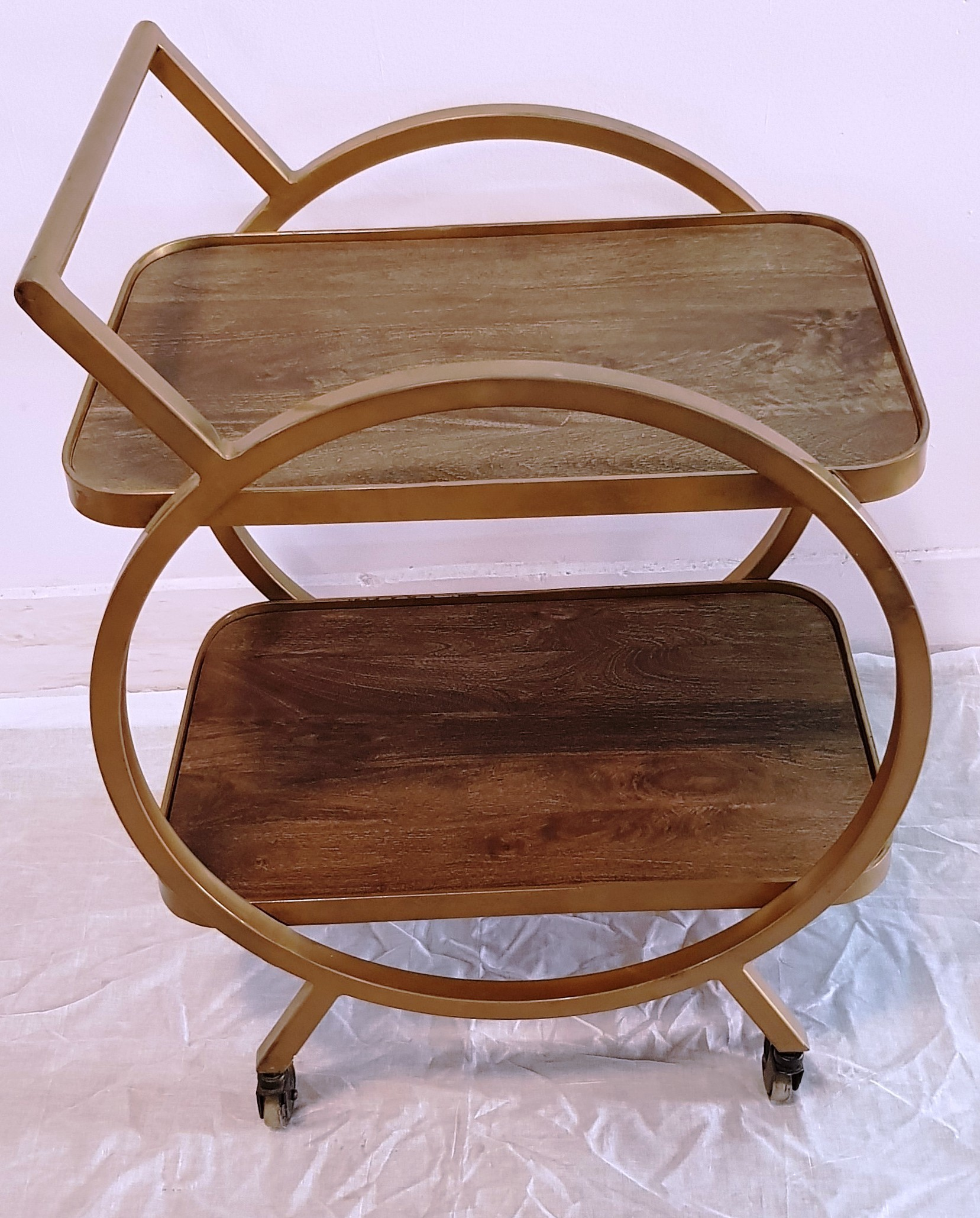 Square Round Type Trolley