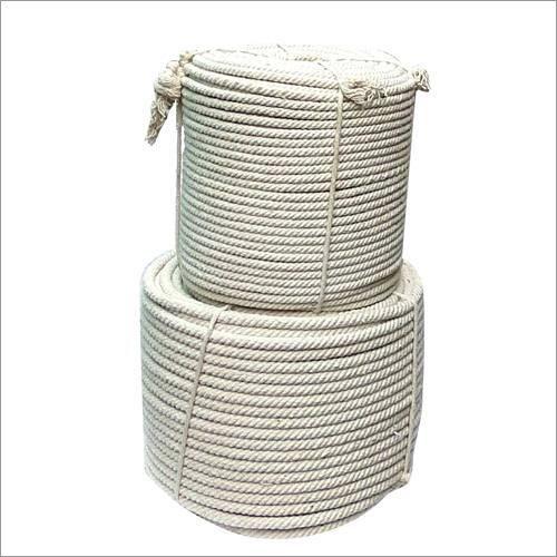 White Cotton Braided Rope