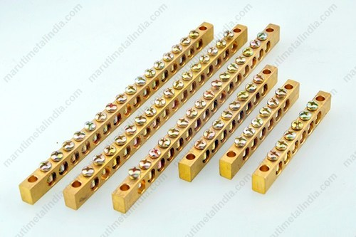 Brass Electrical Neutral Links