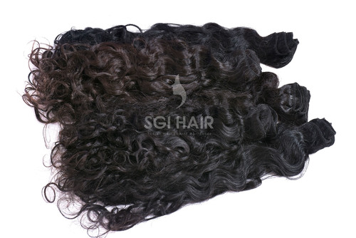 Indian Temple Natural Curly Hair