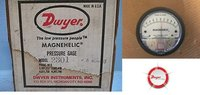 Dwyer USA Model 2301 Magnehelic Gage Range .5-0-.5 Inch WC