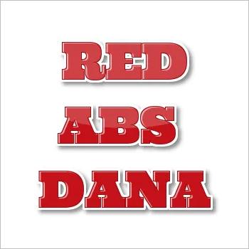 Flora Color Red ABS Plastic Dana