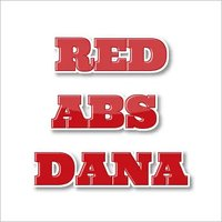 flora color red abs plastic dana