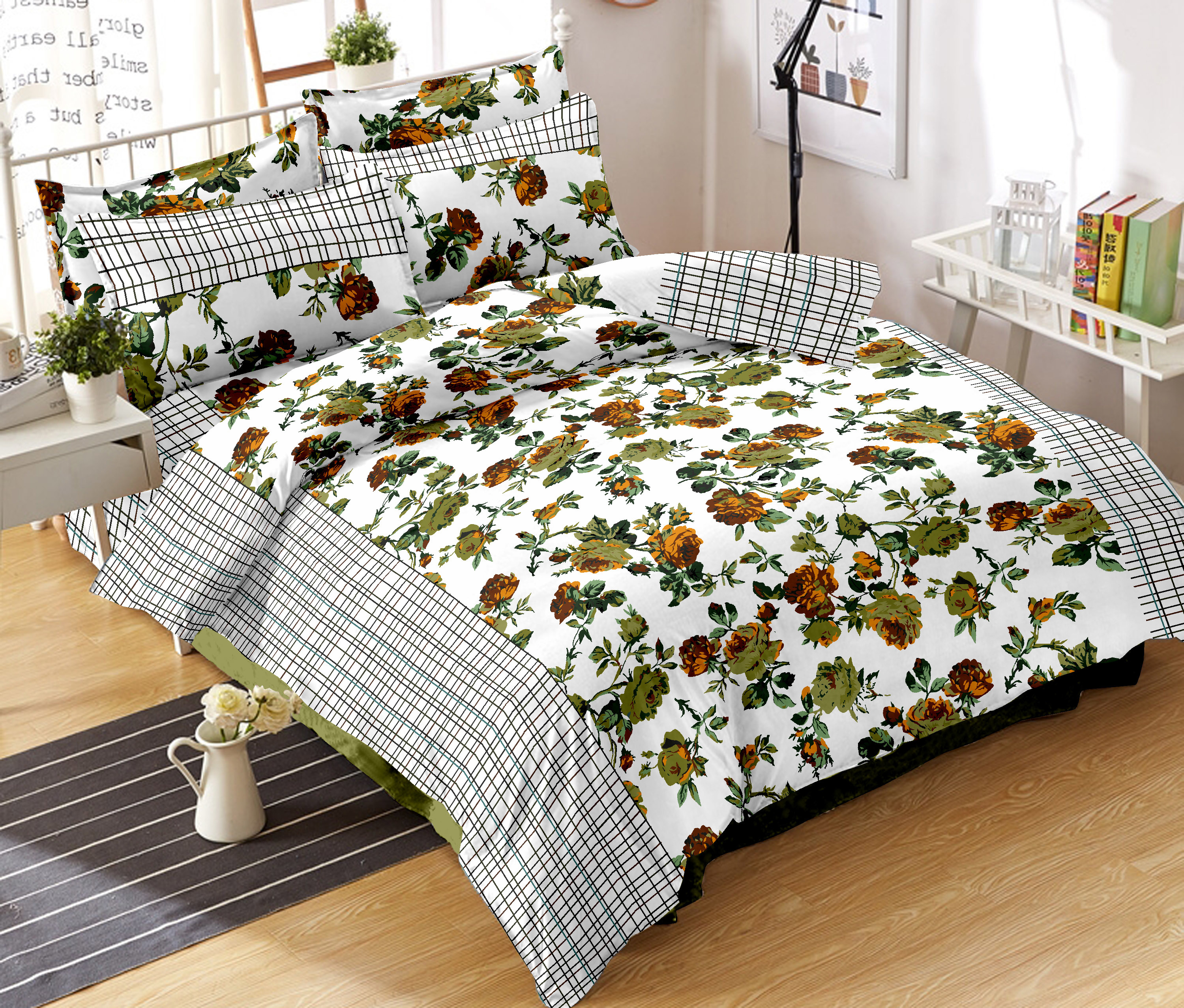 Cotton Designer Bedsheet
