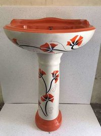Vitrosa set wash basin