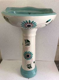 one piece set wash basin