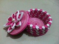 Handmade Round Box