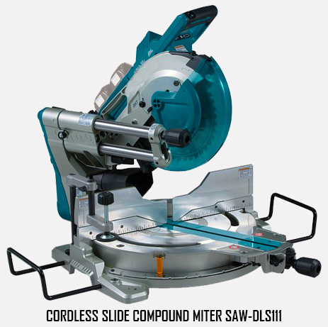 Cordless Slide Compound Miter Saw-DLS111