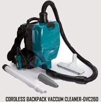 Cordless Backpack Vacuum Cleaner
