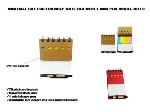 Eco friendly notebooks, and table tops