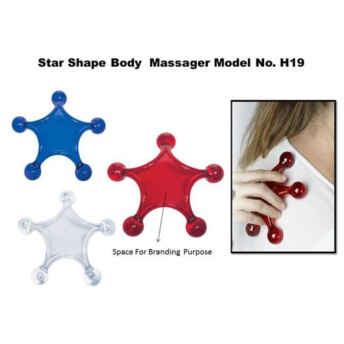 Star Shape Body Massager