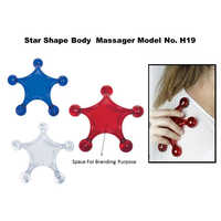 Star Shape Body Massager