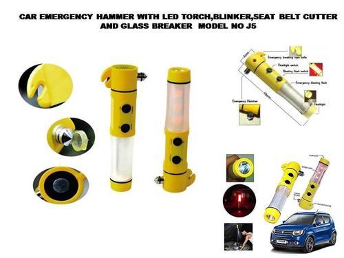 Car Emergency Hammer with flashlight