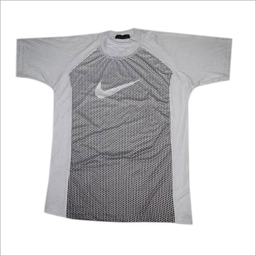 Mens Round Neck Sports T-Shirt