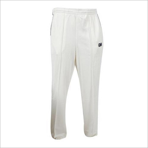 Mens White Sports Lower