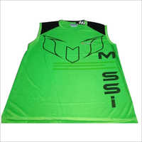 Polyester Sleeveless T-Shirt