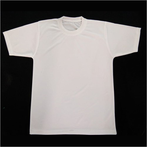 Mens Round Neck Polyester T-Shirt