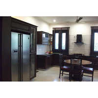 Self Executed Solid Wood Kitchen