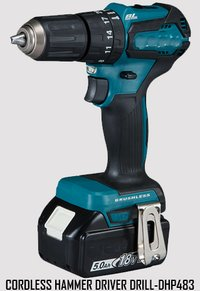 Cordless  Power Hammer Driver Drill